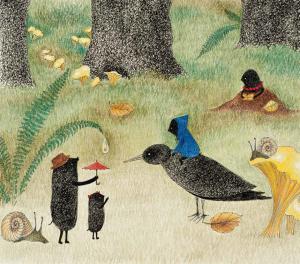 Illustration von Marjana Prochasko